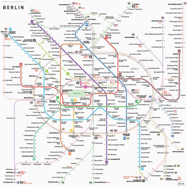 「INAT」,去世界12个城市必备的地铁地图 | 花瓣博客