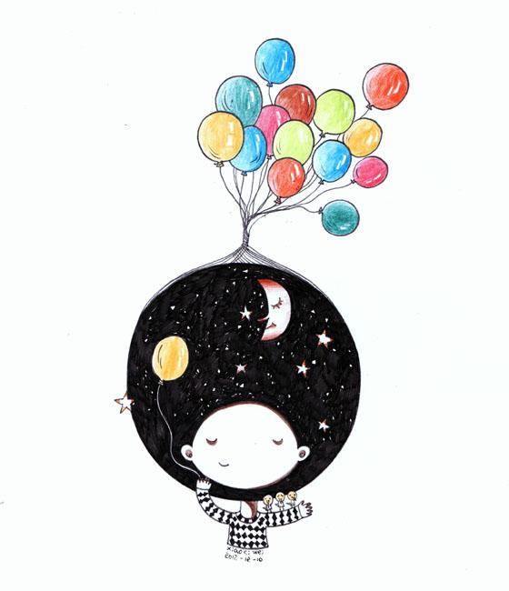 小刺猬:活在自己的插画世界【中国插画联盟】