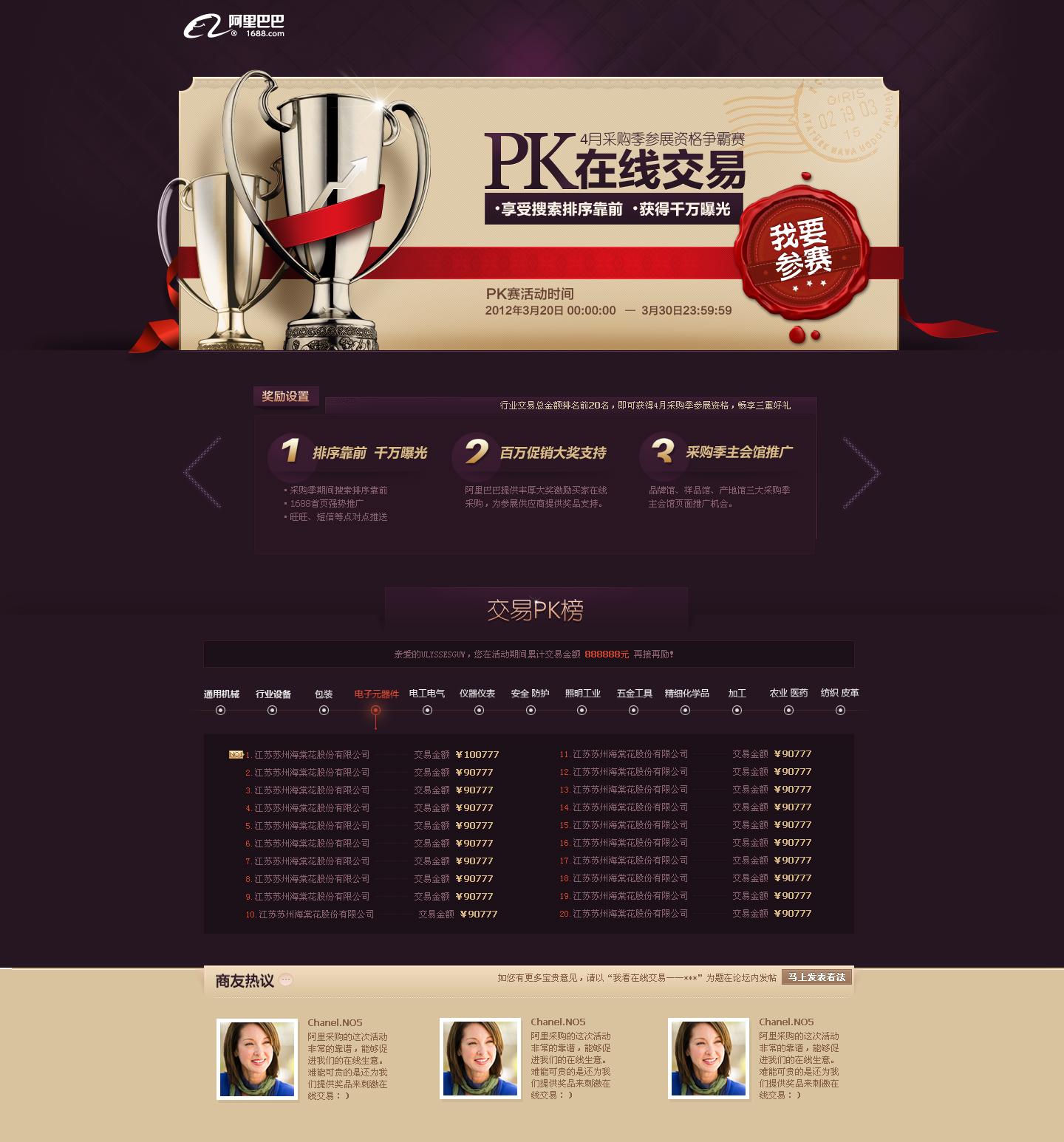 交易PK赛