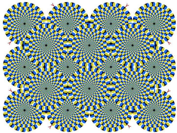 视错觉设计:你能看到几张图在动? – 花瓣博客