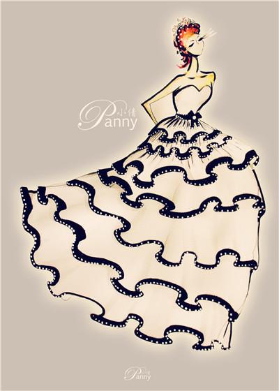 婚纱设计 (4)