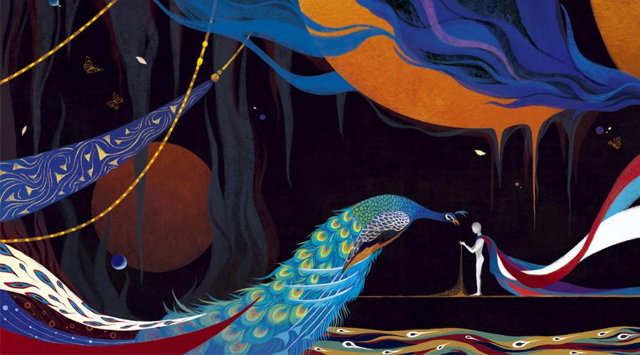 雪魚:愿我的画,像一道光。