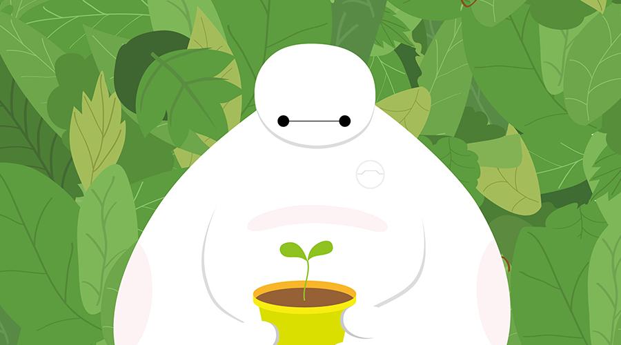 番茄鸡蛋糖:矢量插画的纯粹简单