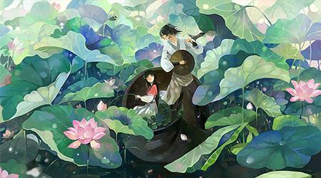 花间酒箫:古风的世界,很美