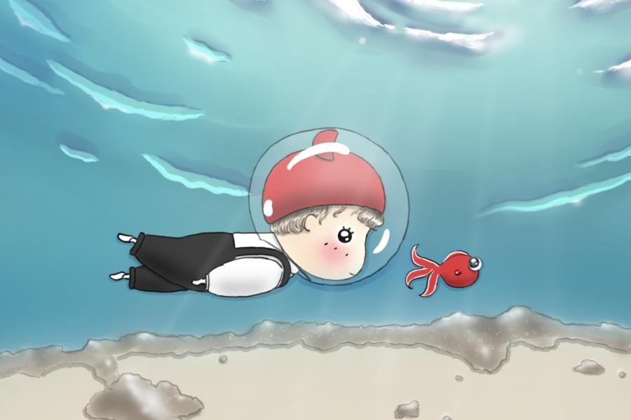 我想变成一只鱼4 - 副本