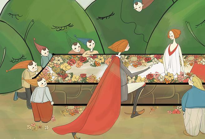 刘丹: 白雪公主和七个小矮人