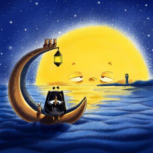 原来,没有你的日子,月光下我的身影才是最短的距离,而你我之间就像这夜空中的满天星,无边无际……