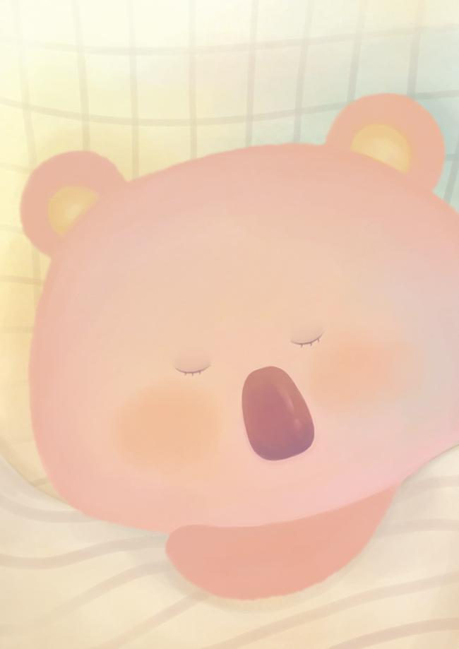 同样是失眠睡不着,但小的时候是因为好的事情才失眠睡不着的。