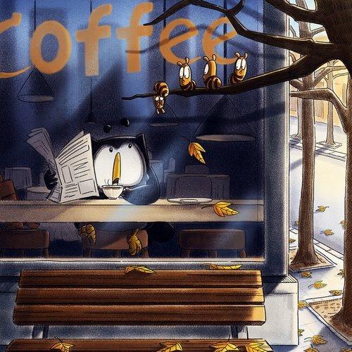 我们总是在用一杯咖啡的时光来回忆过去,可再好的过去,回忆的次数多了,味道也就淡了,