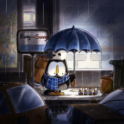 每一个雨夜,都是在滴答滴,滴在了你心底,也滴在了我心头。