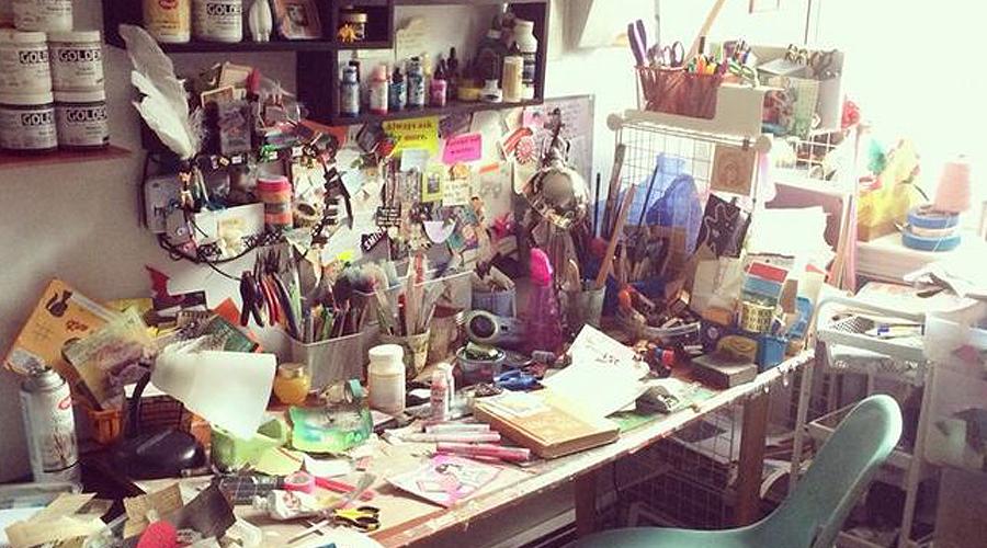 我也想有一间这样的工作室