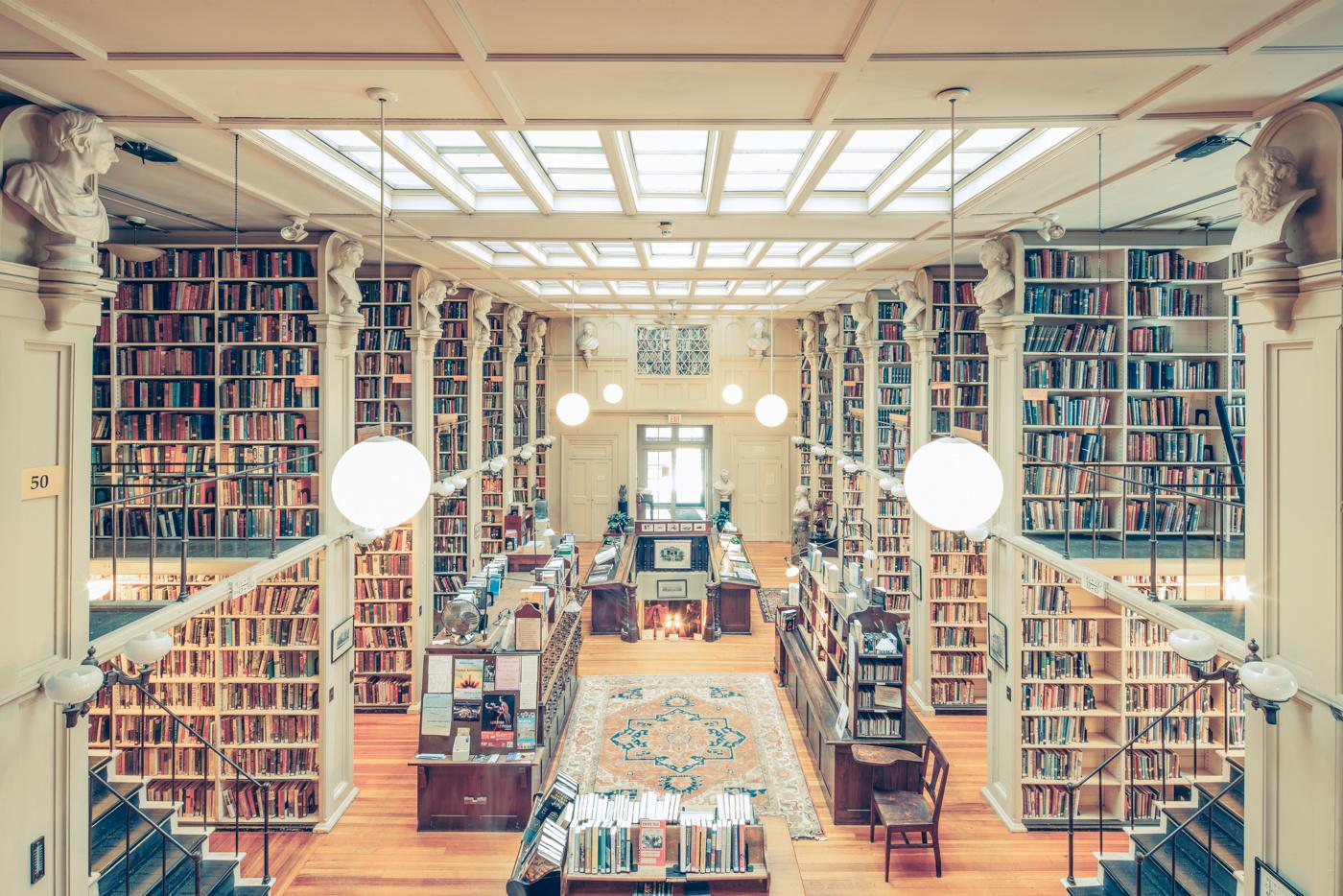 The Providence Athenaeum Library #1, RI, 2015