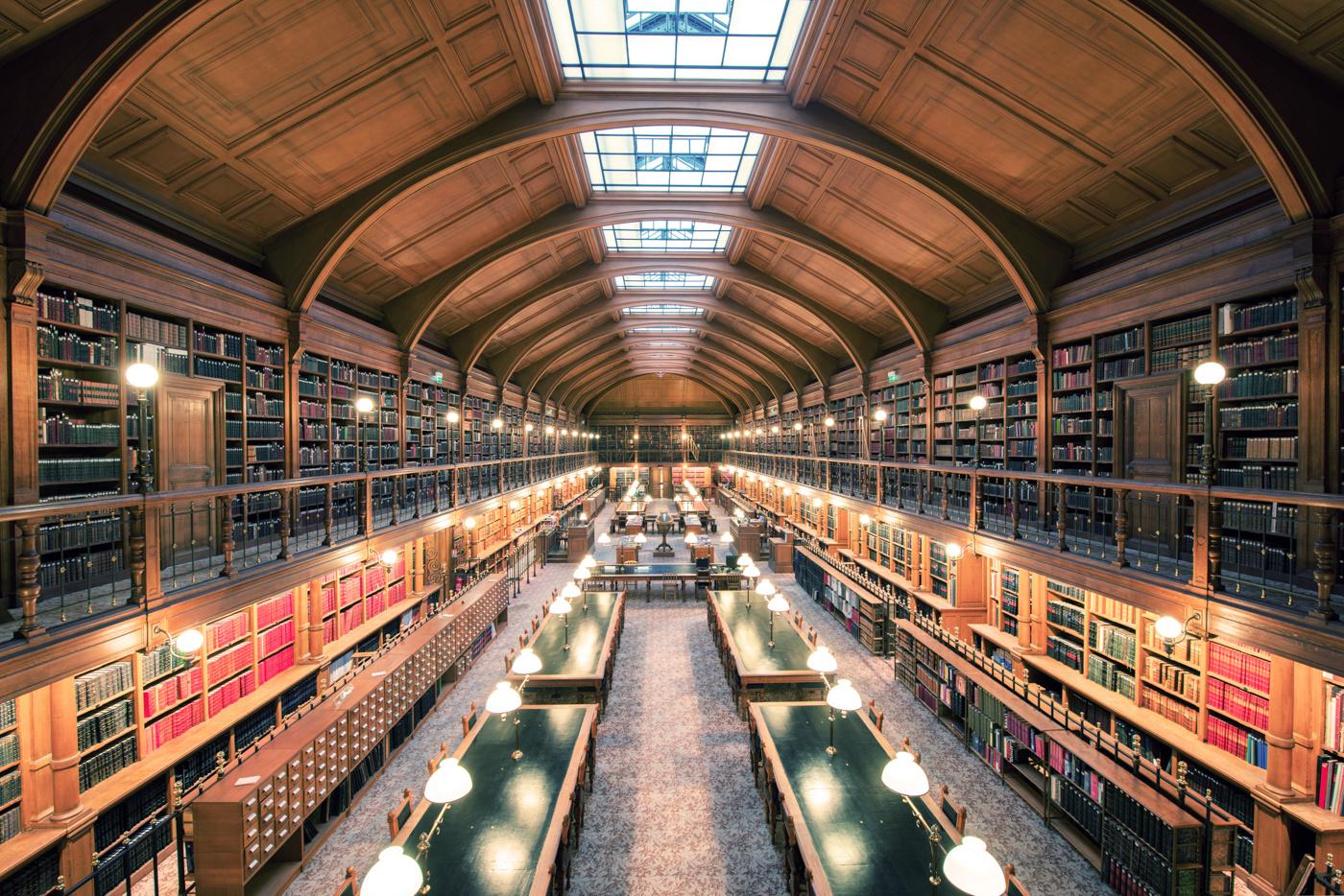 The Bibliothèque Historique de la Ville de Paris, 2012