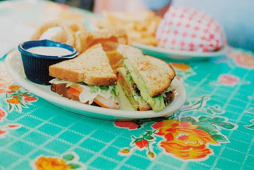 老板,来一份三明治呗!