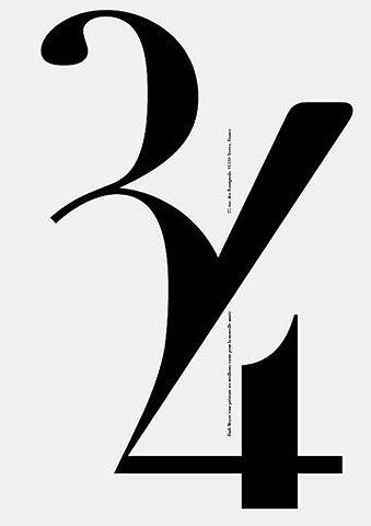 字体的色彩和空间搭配