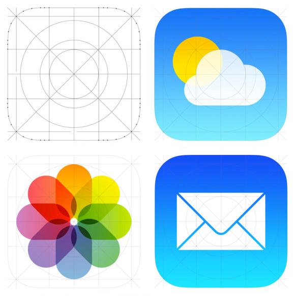 iOS7并非是完全的扁平化?