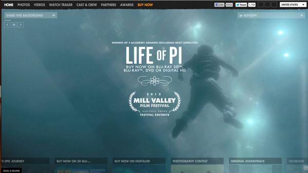 网页设计新趋势:视频背景