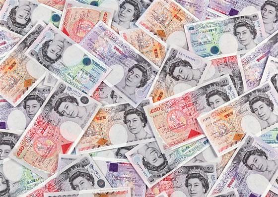 纸币上的设计:英镑