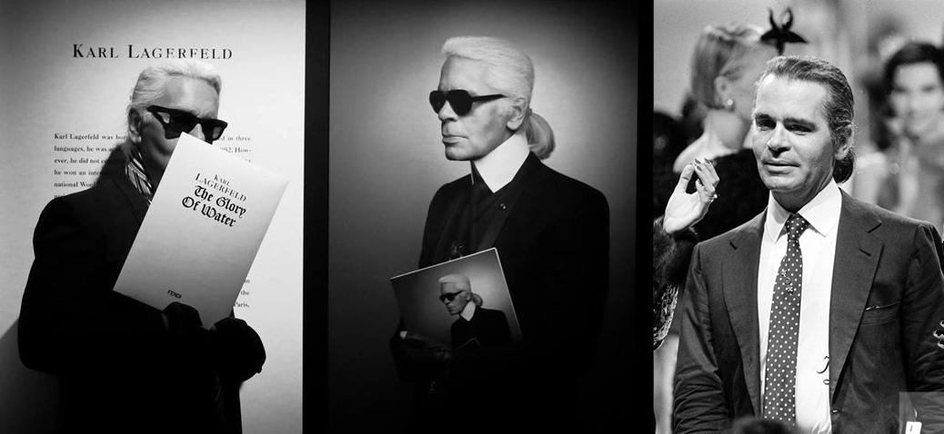 Karl Lagerfeld :墨镜下的种种