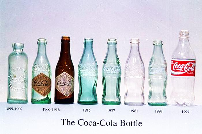 可口可乐:玻璃瓶的进化史