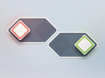 上百种创意按钮设计灵感