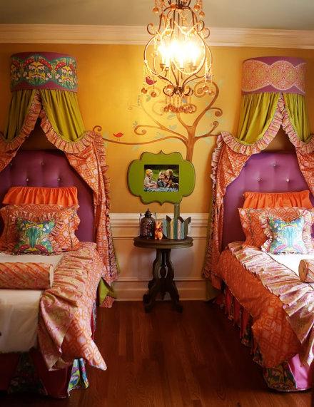 花瓣家居:充满创意和乐趣的儿童房