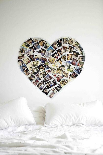 花瓣家居:60种照片墙设计,文艺范十足