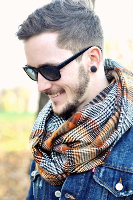 花瓣穿搭:10款时尚气质围巾,教你穿出冬季英伦范儿