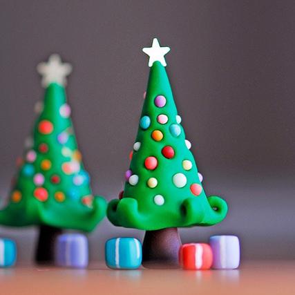 花瓣家居:时尚创意的圣诞树