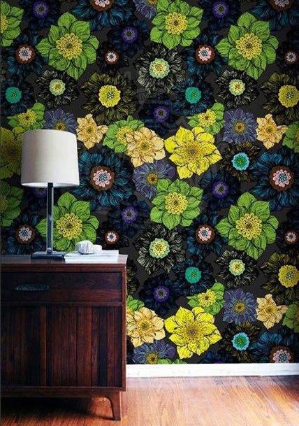 花瓣家居:艺术墙纸,居家环境大变脸