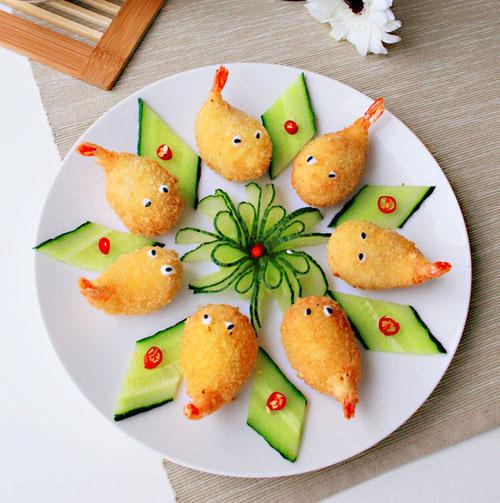 花瓣美食:百变虾肉,尽享春日美味