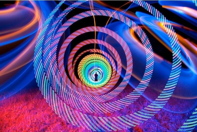 光绘摄影:一场属于时间的艺术