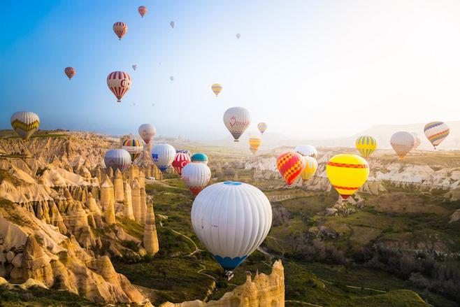 来一场梦幻的热气球之旅