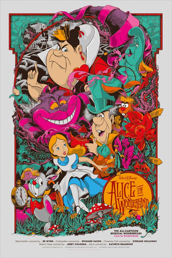 迪士尼海报展,回味童年动画电影