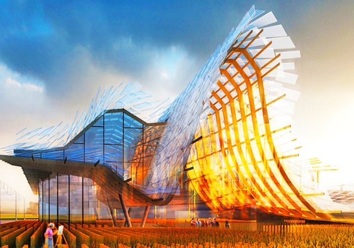 2015米兰世博会:中国馆「麦浪」设计