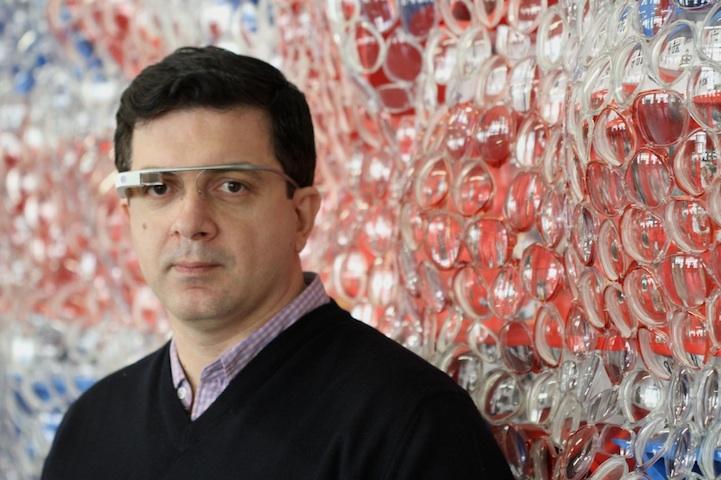 只能用 Google Glass 来欣赏的艺术品