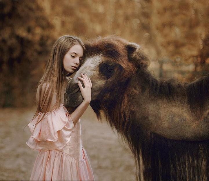 Katerina Plotnikova:现实版的「美女与野兽」