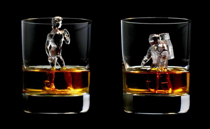 生活中的3D打印:饮品不加冰,加冰雕!