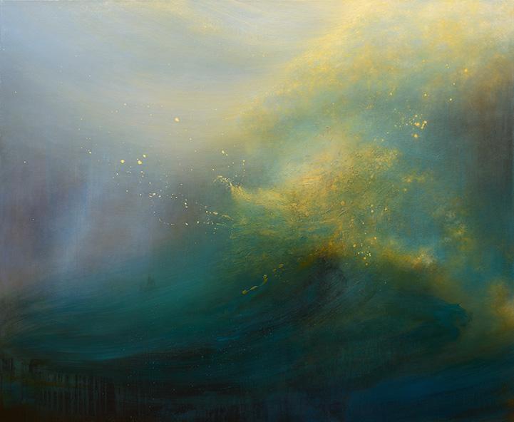 艺术家笔下奇幻的海底漩涡