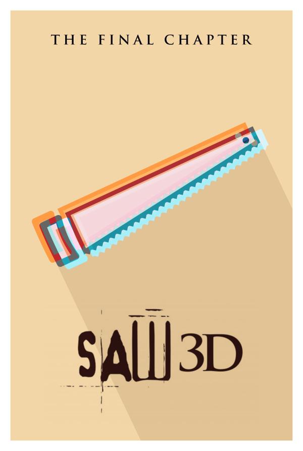 直译影片名称的另类海报设计