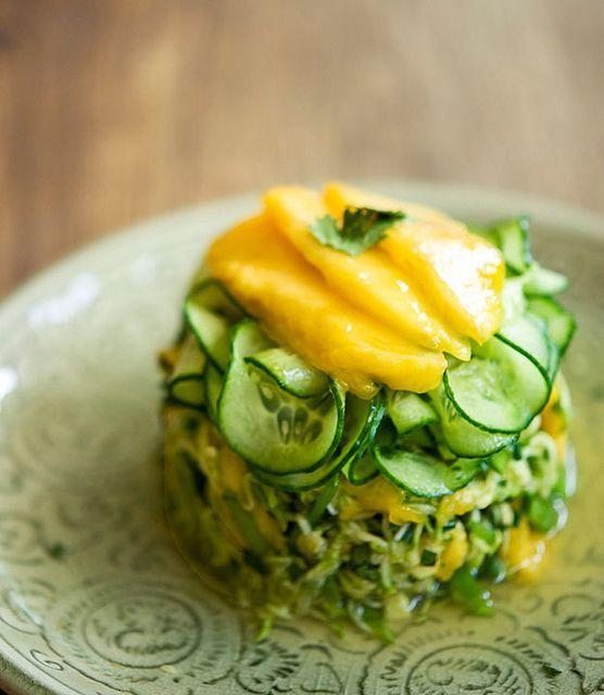五款美味沙拉,夏日减肥清肠最佳选择