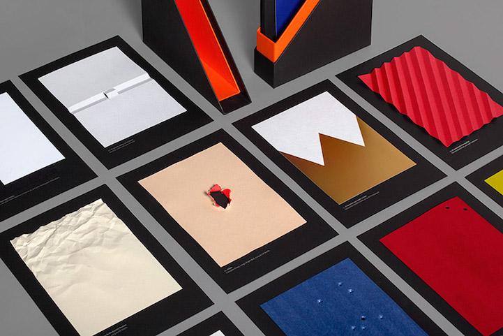 接近「无」的极简设计:手工纸艺电影海报