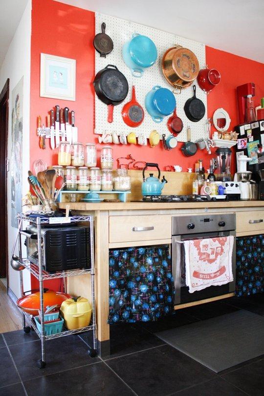 小厨房的五个收纳技巧,和凌乱厨房说拜拜