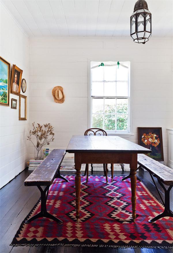 家居为何不时尚:缺块地毯!