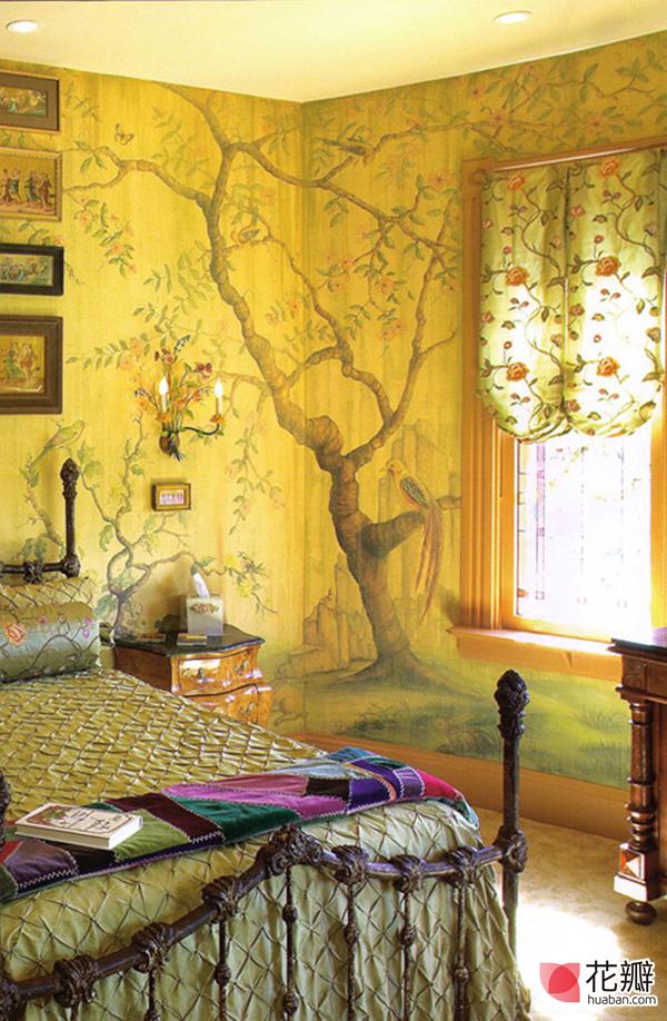 让房间个性鲜明的壁纸