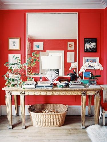 不同色系在家居中的点缀作用