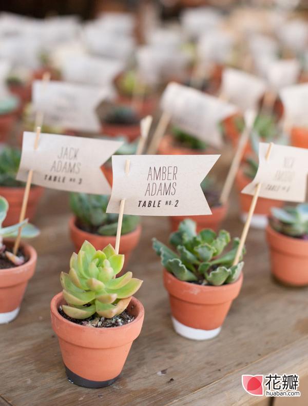 五款浪漫婚礼迎宾牌设计