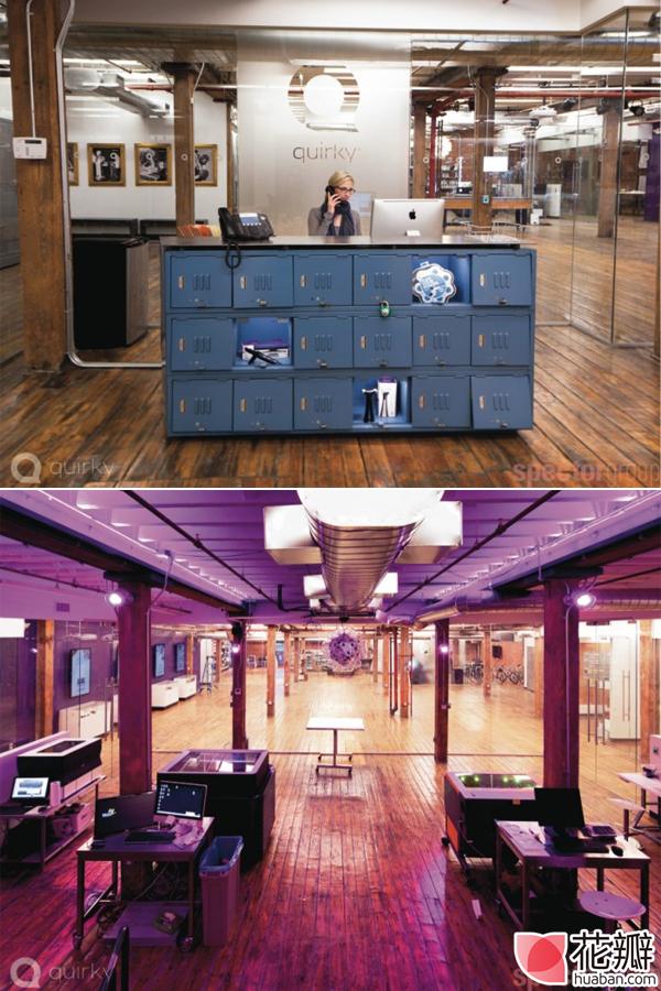 酷炫办公室设计,让创意飞起来