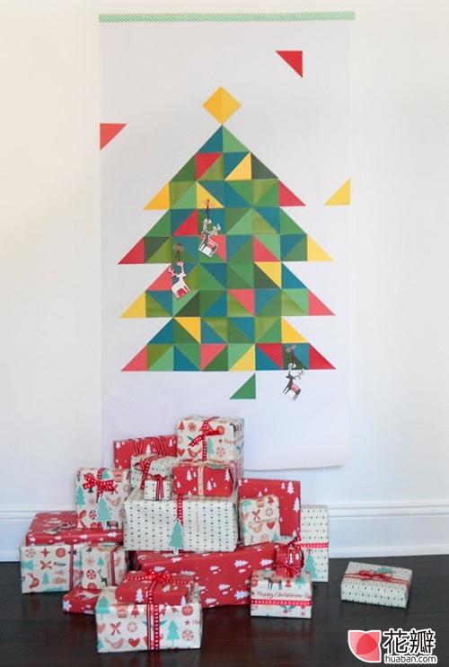 手工课堂:简易圣诞树DIY