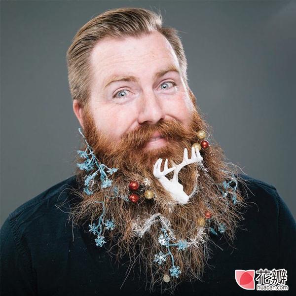圣诞节,一起开个胡子大趴体吧!